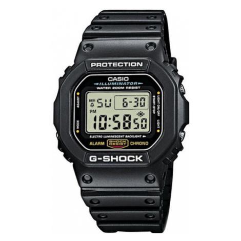 G-Shock Zegarek DW-5600E-1VER Czarny Casio