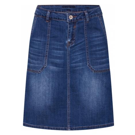 Cream Spódnica 'DIWA' niebieski denim / ciemny niebieski