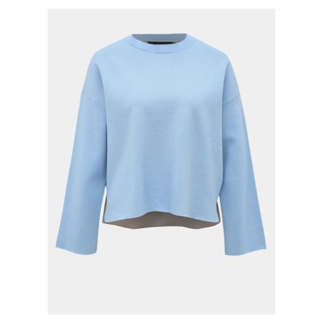 Niebieski sweter VERO MODA Delub Double