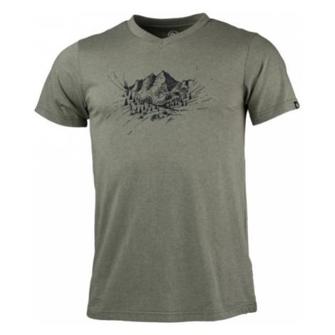 Northfinder ABELIN zielony XL - Koszulka outdoorowa męska