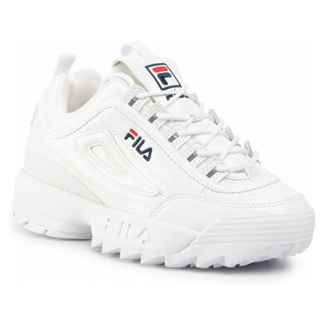 Sneakersy FILA - Disruptor P Low Wmn 1010746.1FG White