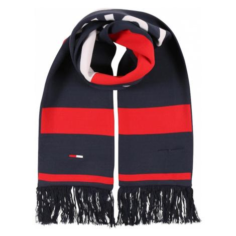 Tommy Jeans Szalik czerwony / niebieski Tommy Hilfiger