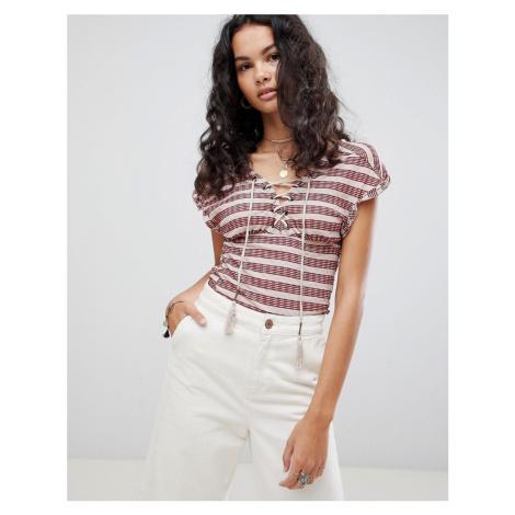Free People Sail Out Stripe T-Shirt