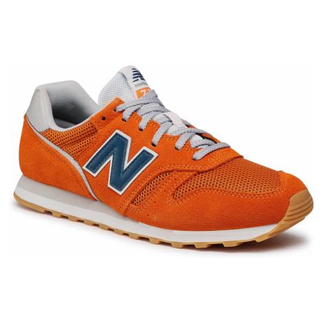 Sneakersy NEW BALANCE - ML373EB2 Pomarańczowy