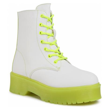 Trapery KEDDO - 808258/02-17G White/Yellow