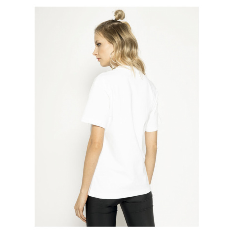 MAX&Co. T-Shirt Tee 49719620 Biały Oversize