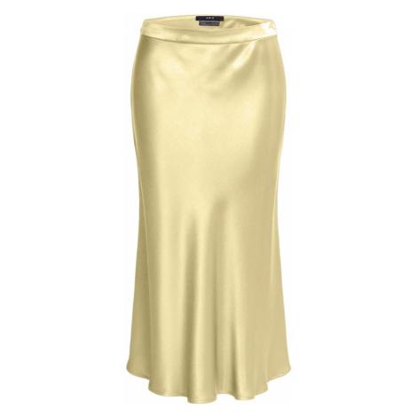 SET Spódnica pastelowo-żółty
