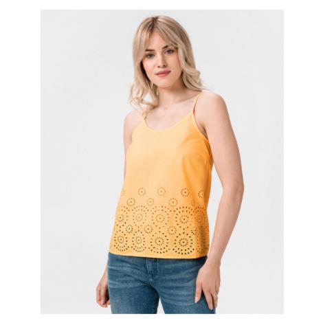 Vero Moda Halo Podkoszulek Żółty