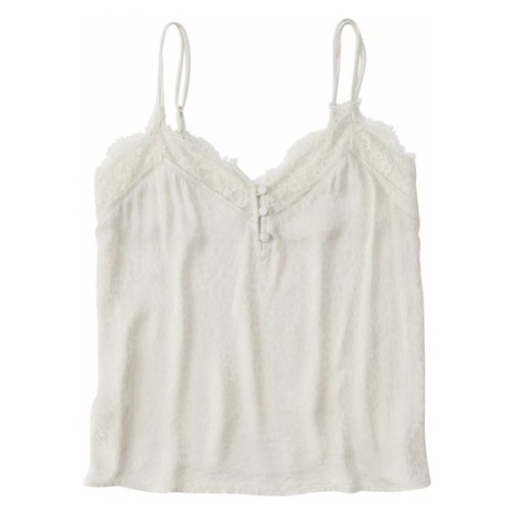Abercrombie & Fitch Top 'XM19-SCANDY STREET LINGERIE CAMI 3CC' offwhite