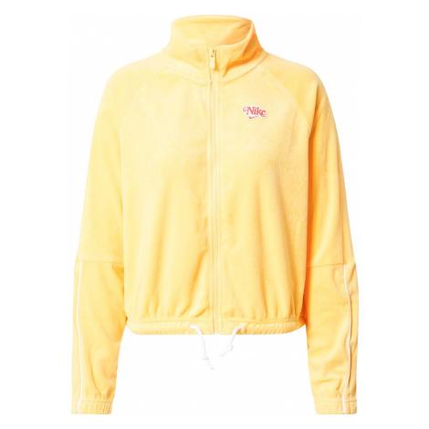 Nike Sportswear Bluza rozpinana 'Retro' złoty żółty