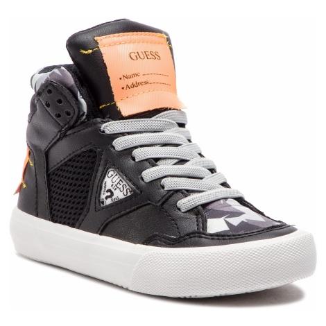 Sneakersy GUESS - Jr Bruce FI5BRU ELE12 BLACK