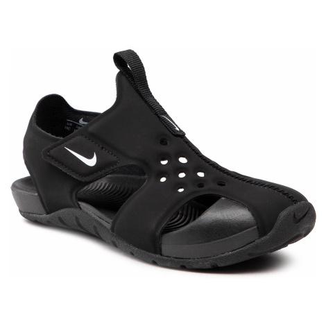 Sandały NIKE - Sunray Protect 2 (PS) 943826 001 Black/White