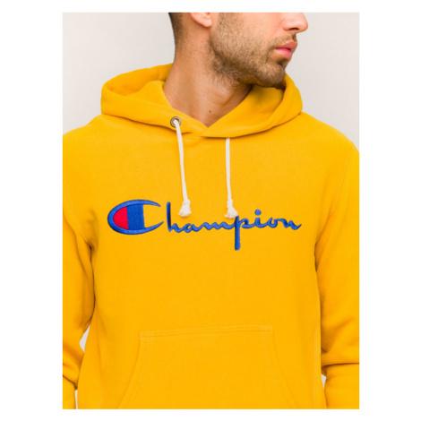 Champion Bluza 212574 Żółty Regular Fit