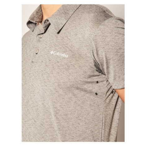 Columbia Polo Triple Canyon AO1287 Szary Regular Fit