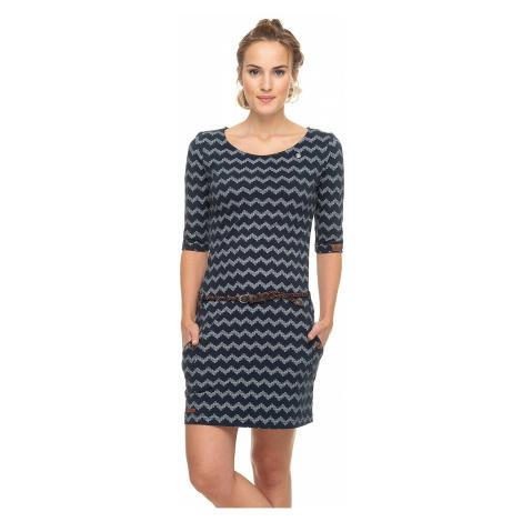 sukienka Ragwear Tanya Zig Zag - 2028/Navy