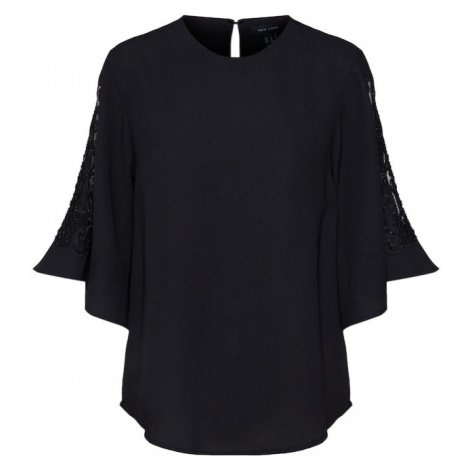 NEW LOOK Bluzka 'DANNI EMBEL' czarny
