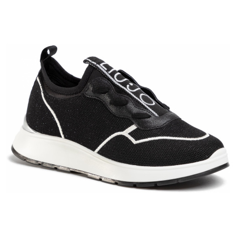 Sneakersy LIU JO - Asia 04 BA0029 TX047 Black 22222
