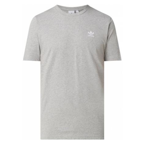 T-shirt z wyhaftowanym logo Adidas
