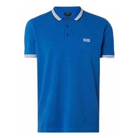 Koszulka polo z detalami w kontrastowym kolorze model 'Paddy'