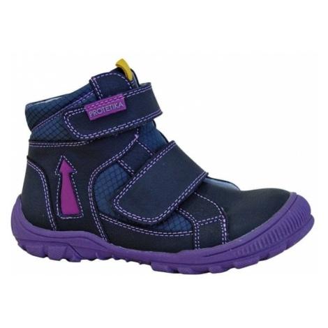Protetika buty zimowe za kostkę dziewczęce Lupita 27 niebieskie