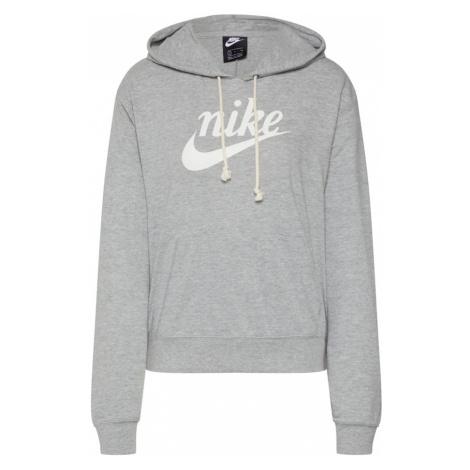 Nike Sportswear Bluzka sportowa 'W NSW GYM VNTG HOODIE HBR' szary