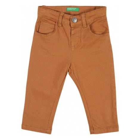 UNITED COLORS OF BENETTON Spodnie ciemnopomarańczowy
