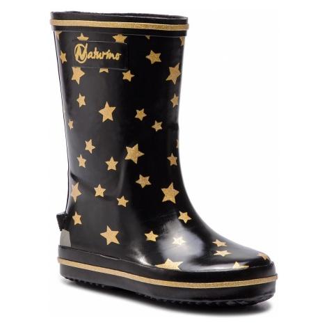 Kalosze NATURINO - Rain Boot 0013501128.03.9121 S Nero/Oro