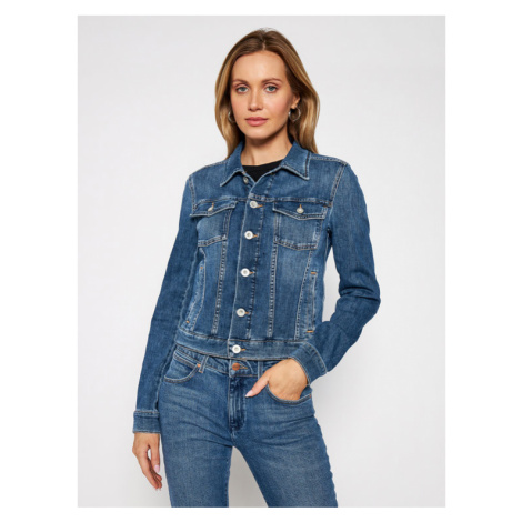 Marc O'Polo Kurtka jeansowa 102 9216 25035 Granatowy Regular Fit