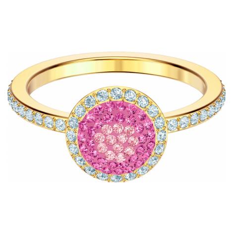 No Regrets Ring, Multi-colored, Gold-tone plated Swarovski