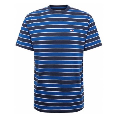 Tommy Jeans Koszulka królewski błękit / ciemny niebieski / biały Tommy Hilfiger