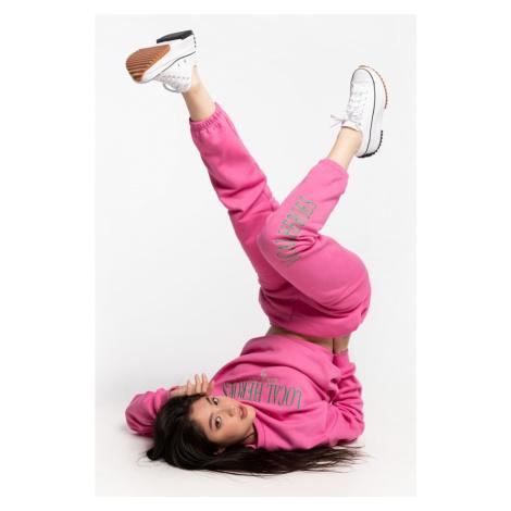 Spodnie Local Heroes Dresowe Lh 2013 Pink Sweatpants Ss21P0025 Pink