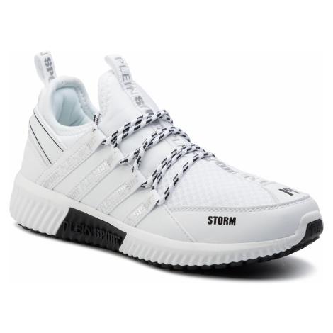 Sneakersy PLEIN SPORT - Runner Logos F19S MSC2237 STE003N White 01