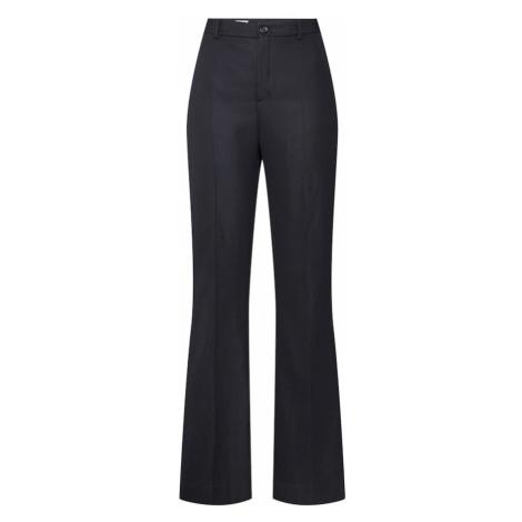 Filippa K Spodnie w kant 'Ivy Suiting Trouser' czarny