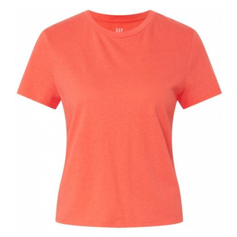 GAP Koszulka 'SHRUNKEN' koralowy