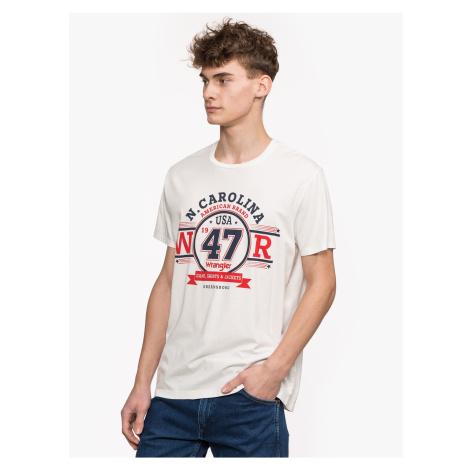 "Wrangler ""Americana Logo Tee"" White"