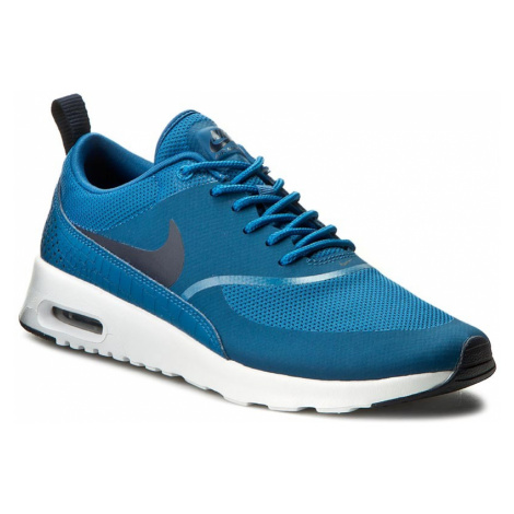 Buty NIKE - Air Max Thea 599409 415 Industrial Blue/Obsidian/White