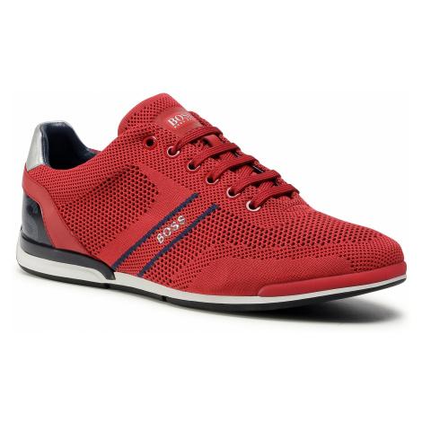 Sneakersy BOSS - Saturn 50432830 10227355 01 Medium Red 610 Hugo Boss