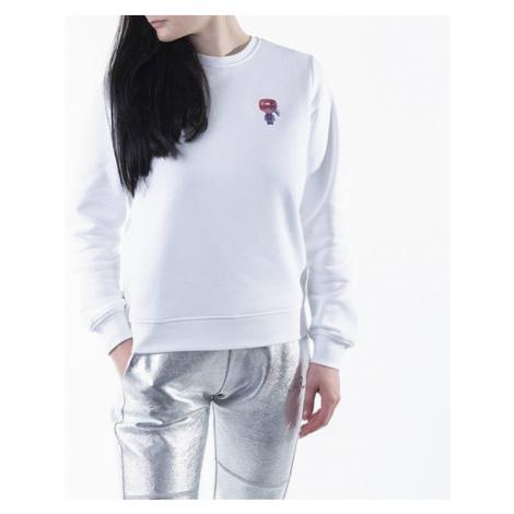 Bluza damska Karl Lagerfeld Mini 3D Karl Ikonik Sweatshirt 210W1826 100
