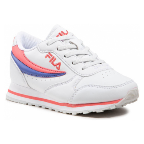Fila Sneakersy Orbit Low Kids 1010783.94Q Biały