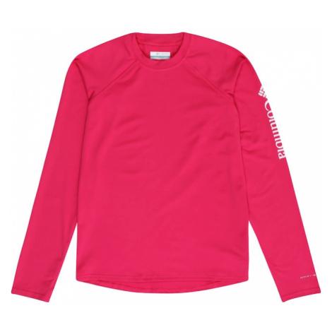 COLUMBIA Koszulka funkcyjna 'Sandy Shores' różowy / biały