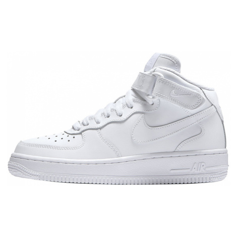 "Buty Nike Air Force 1 Mid (GS) ""All White"" (314195-113)"