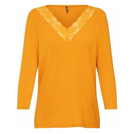 ONLY Koszulka złoty żółty