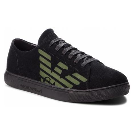 Sneakersy EMPORIO ARMANI - X4X238 XF188 00002 Black