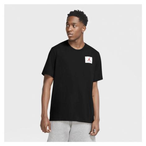 Męska koszulka Jordan Flight Essentials z krótkim rękawem i okrągłym dekoltem - Czerń Nike