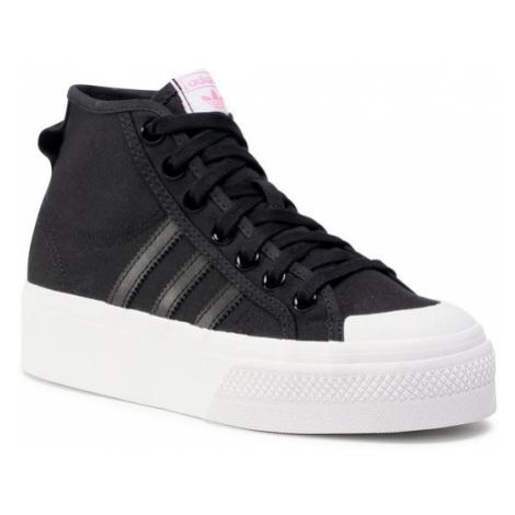 Adidas Buty Nizza Platfrom Mid W FY7579 Czarny