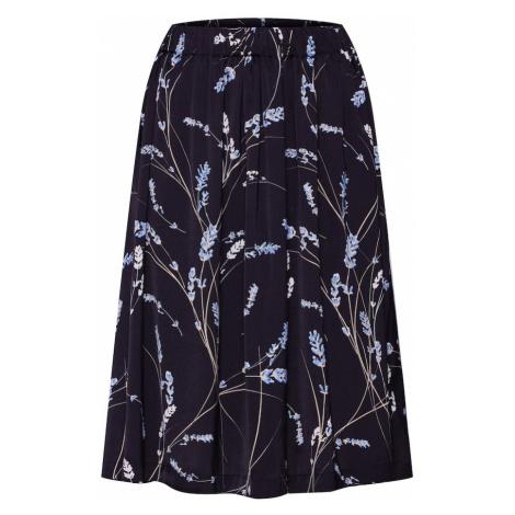 MOSS COPENHAGEN Spódnica 'Minda' jasnoniebieski / czarny / biały