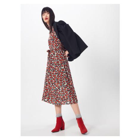 Essentiel Antwerp Sukienka koszulowa 'Tapir' czerwony / biały