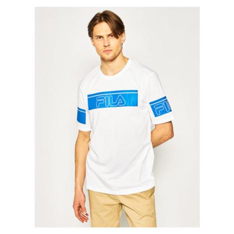 Fila T-Shirt Lani 683085 Biały Regular Fit