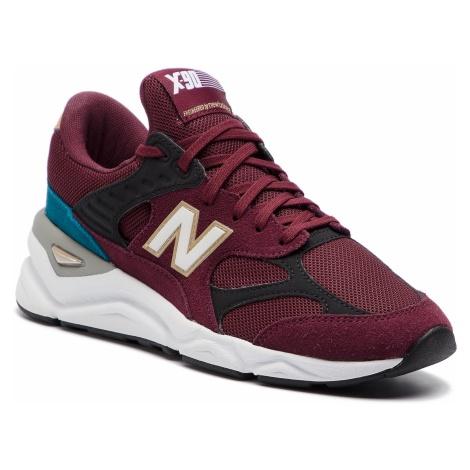 Sneakersy NEW BALANCE - WSX90RPD Bordowy