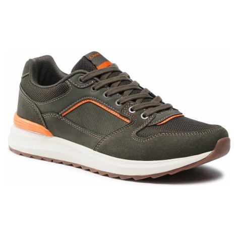 Sneakersy LANETTI - MP07-01406-01 Khaki